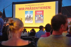 Open-Air-Kino Schkeuditz